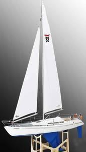 Bilde av Comtesse Sailing Yacht. 950x230x1500 mm.